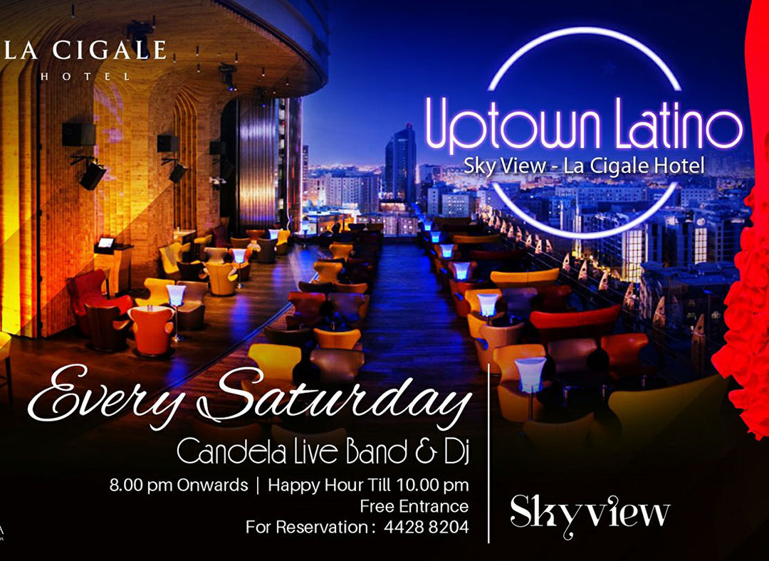 Uptown Latino Every Saturday