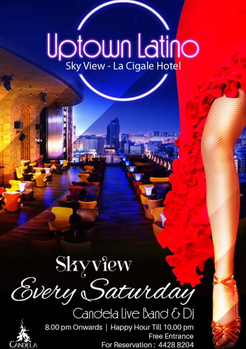 La Cigale Hotel - Uptown Latino Every Saturday