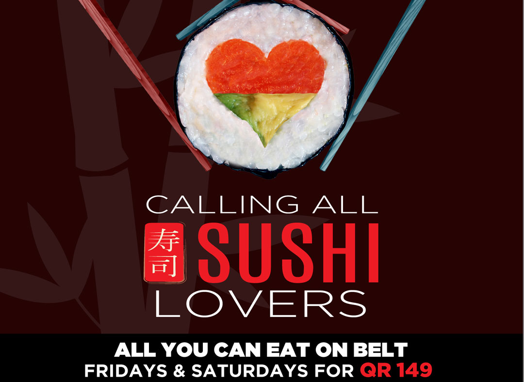 (All What You Can Eat Sushi - Fridays & Saturdays Business Lunch (not available during Ramadan