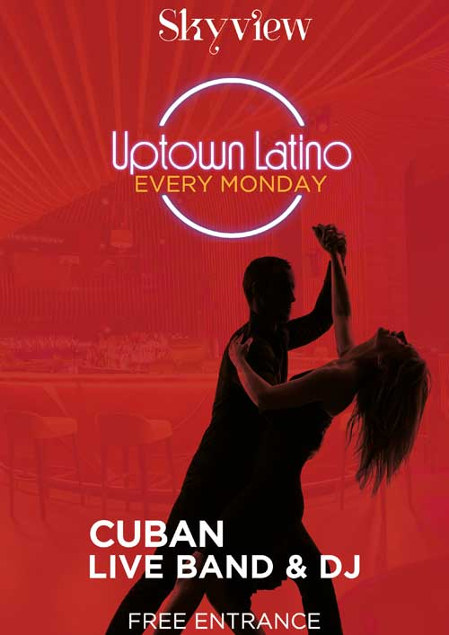 La Cigale Hotel - Uptown Latino Every Monday @ Sky View