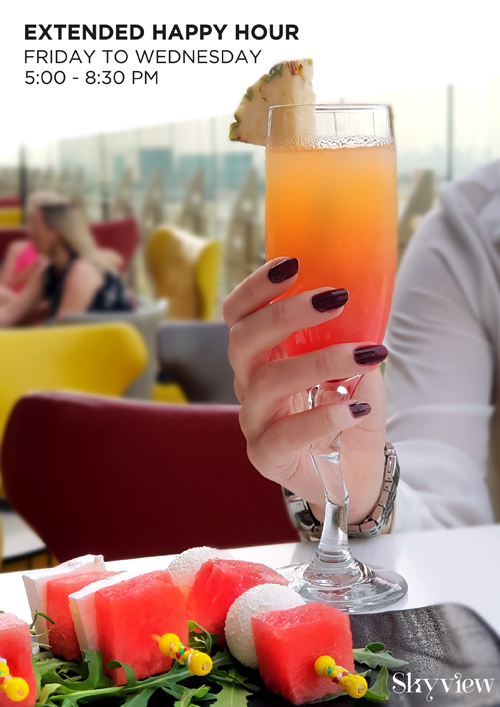 La Cigale Hotel - Extended Happy Hour @ Sky View