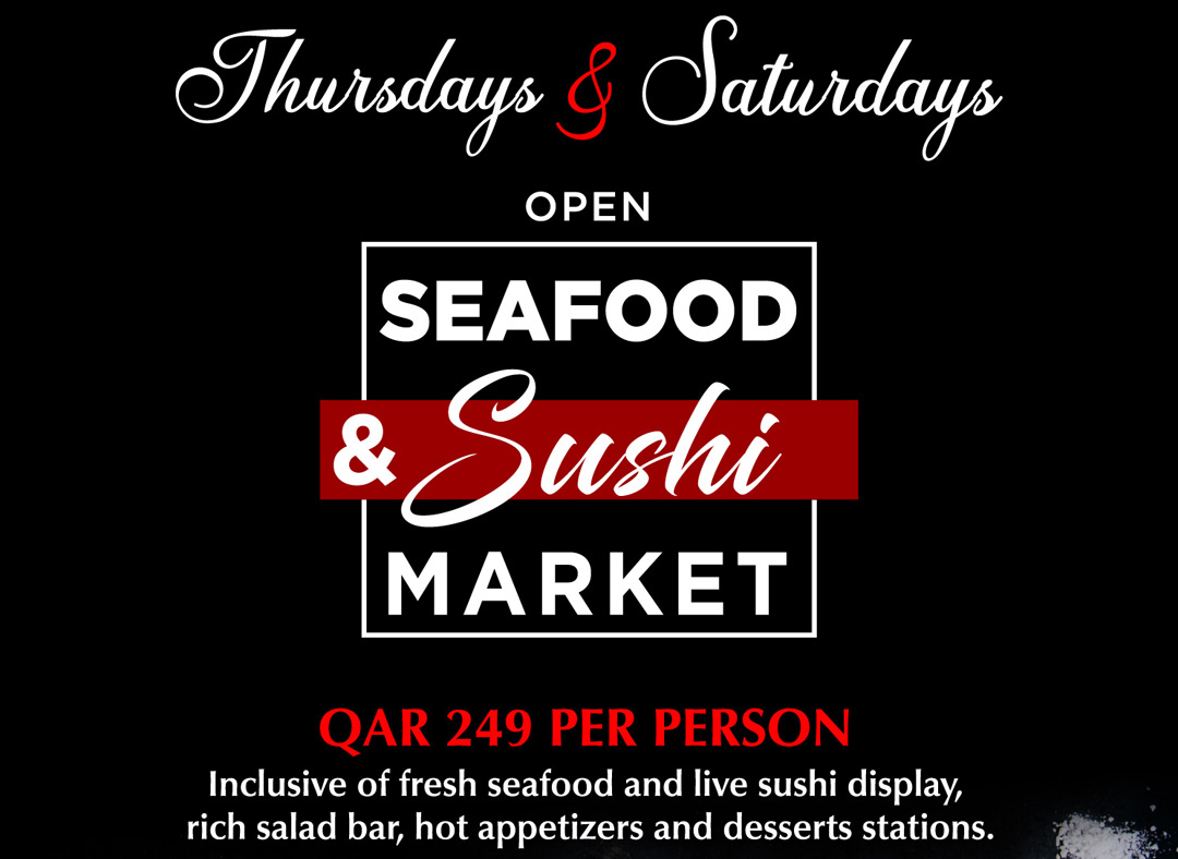 Open Seafood and Sushi Market