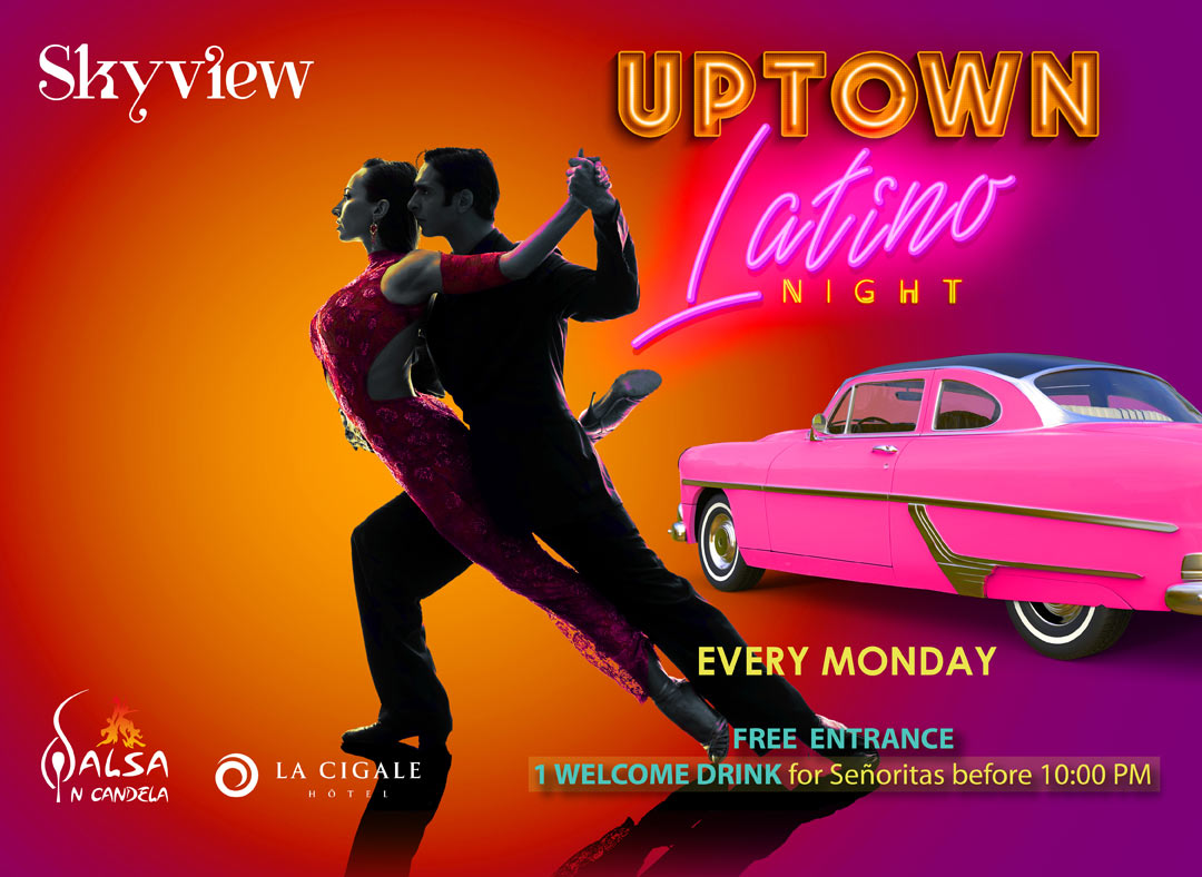 Uptown Latino Every Monday