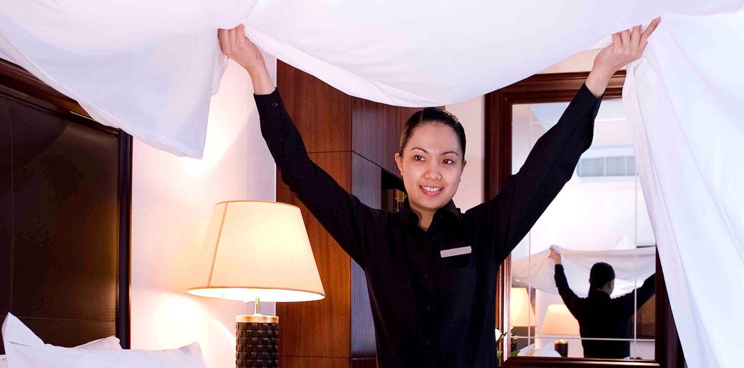 Housekeeping at your Service - La Cigale Hotel