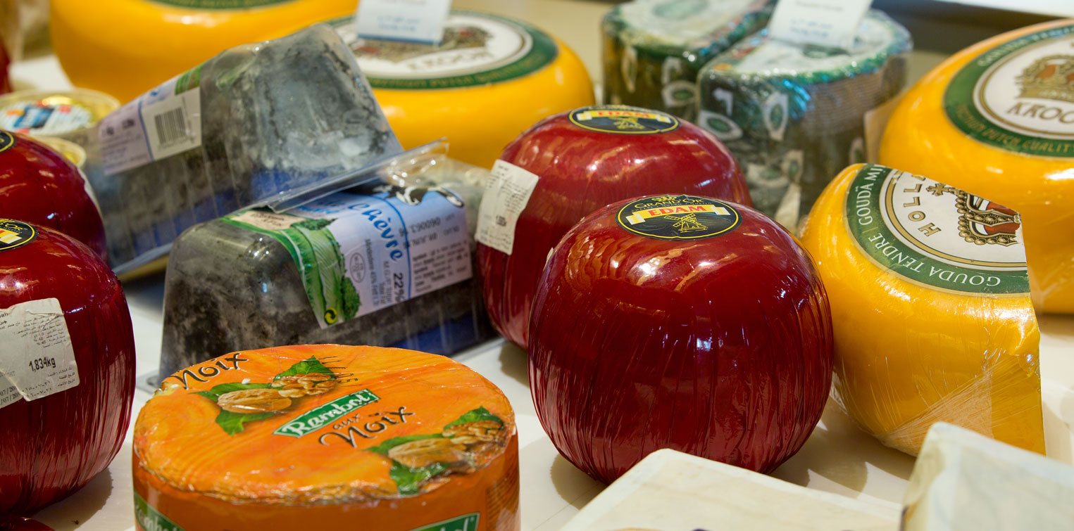 Artisan Cheeses Section - La Cigale Traiteur