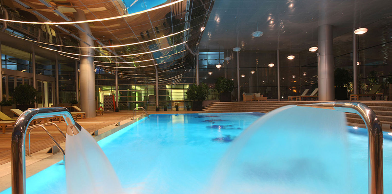 Indoor Swimming Pool - La Cigale Hotel