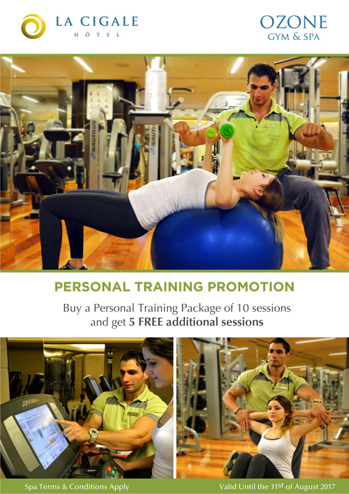 La Cigale Hotel - Person Training Promotion