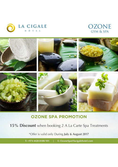 La Cigale Hotel - Ozone Spa Promotion