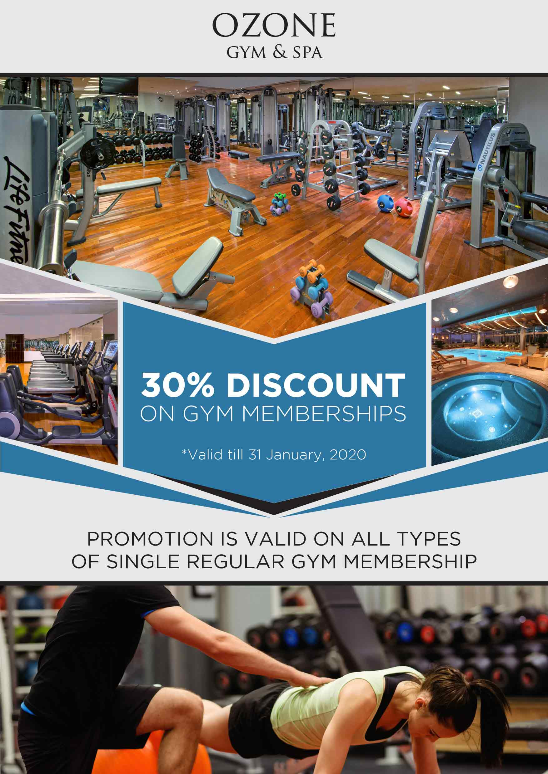 La Cigale Hotel - 30% Gym Membership Offer