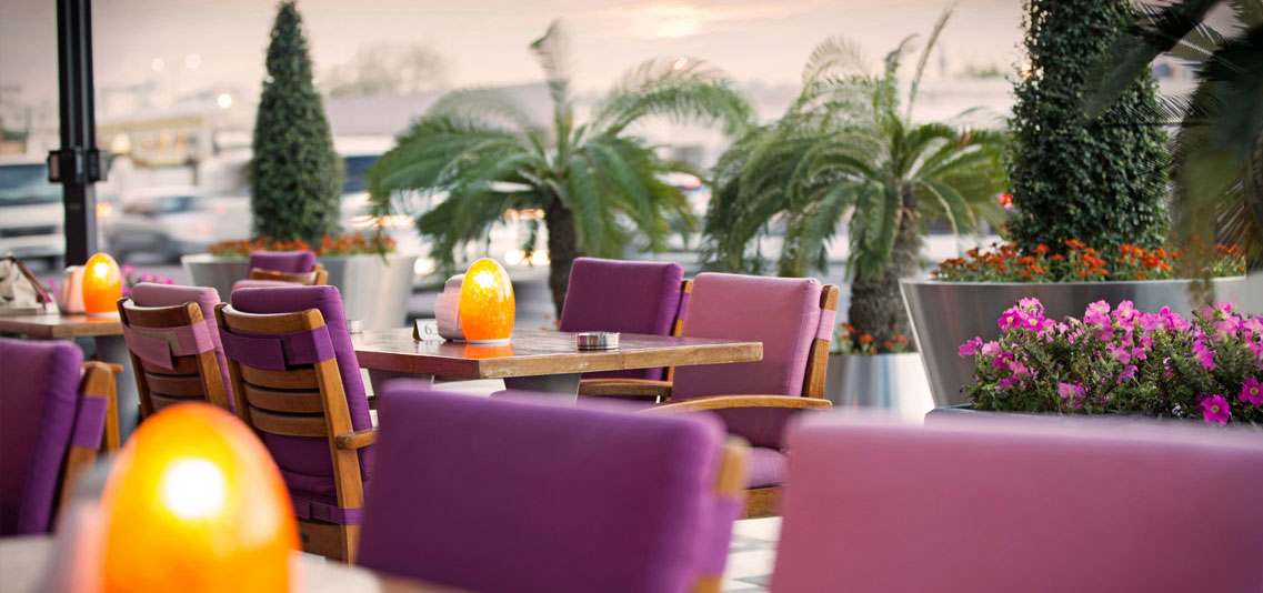 La Cigale Hotel - Orangery Cafe Trottoir